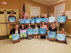 Paint and Sip Glassware! @ Valley Falls Community Hall | Valley Falls | New York | United States