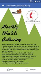 Ukelele Gathering @ Valley Falls United Methodist Church | Valley Falls | New York | United States