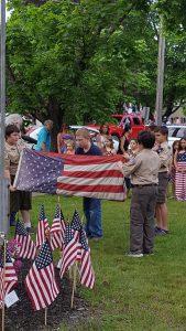 Retiring the American Flag
