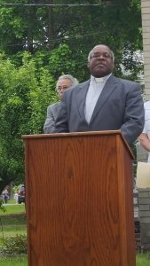 Reverend Ewart Morris