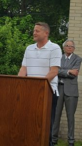 Library Board Vice President, Dale Akin