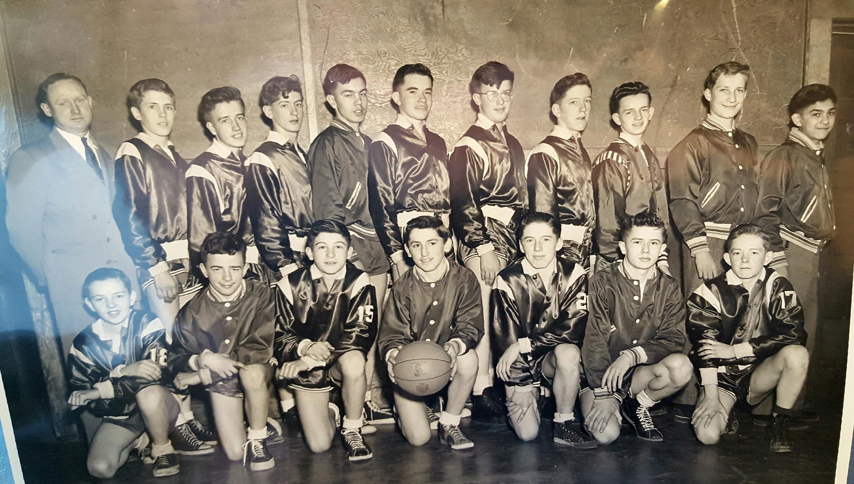 Hoosic Valley JV, 1949-1950, Coach Furlong and ??